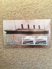 Titanic Stamps - Éire £1 Set Of 2