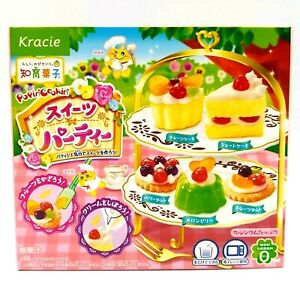 Kracie DIY candy kit Sweets Party Popin' Cookin' x 1 box (29g) exp 11/2022