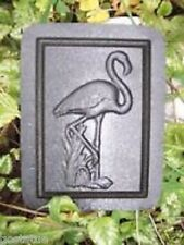 Flamingo plaque mold concrete plaster abs plastic sea tropcial mould