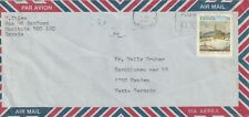 1989 Canada cover from Winnipeg Manitoba to Menden Germany