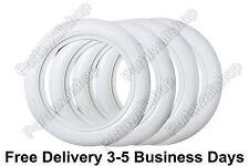 Old Firestone tyre style 14''x3'' White Walls Tire Insert Trim 4 pcs.Portawalls.