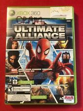 Marvel: Ultimate Alliance (Microsoft Xbox 360, 2006) (CIB) (GD)