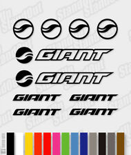 GIANT Die-cut Decal Sticker sheet (cycling, mtb, bmx, bike, frame) - V5