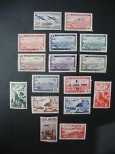 Algérie  Stamps French Colonies  PA N° 1 à 14 et N° 245   neuf **  à voir