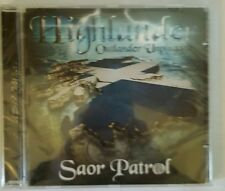 Highlander Outlander Unplugged - Saor Patrol (CD 2015) BRAND NEW AND SEALED