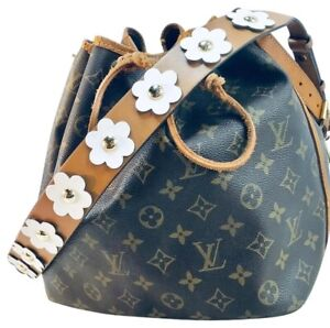 Michael Kors Floral Leather Shoulder Strap Handle For Purse or Wallet Cross body