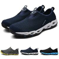 Casuals Shoes Men Fashion Mesh Loafer Sport Sneaker Trail Breathable Slip On New
