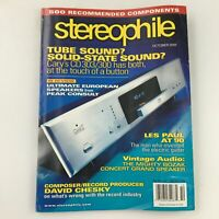 Stereophile Magazine October 2005 Record Producer David Chesky, Newsstand