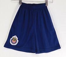Guadalajara Futbol Soccer Logo Crest Shorts Drawstring Boys Size: 8 yrs