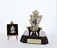 Royal Irish Rangers: Brass Badge-Gift Set + FREE Engraving **REDUCED**
