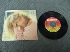 "Barbra Streisand left in the dark - 45 Record Vinyl Album 7"""