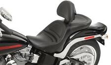 Saddlemen - 8852JS - Explorer Seat with Backrest Fits Harley Softail 1984-99 HG
