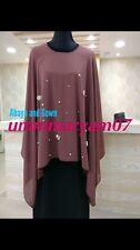 Latest Design Dubai Abaya Style Kaftan Farasha  Maxi Dress Abaya +hijab {SCARF}