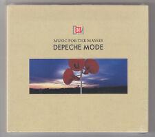 DEPECHE MODE - MUSIC FOR THE MASSES - CD + DVD, NOWA, FOLIA
