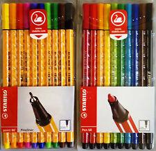 Neues Angebot1x STABILO Pen 88 und 1x Stabilo Pen 68 ETUI 10 je Stifte