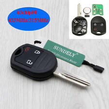 Keyless Remote Key 3 Button For Ford Mustang Exploror Edge 433MHZ 4D63 80Bit