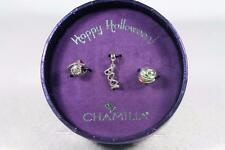Authentic Chamilia 'LE 2017 Halloween Gift Set' 3 Beads #4010-0438 New In Box