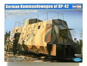Hobbyboss 1:72 BP-42 Kommandowagen German Armoured Rail Car Model Kit