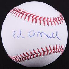 Ed O'Neill Signed OML Baseball (Schwartz COA) From our Al Bundy Collection