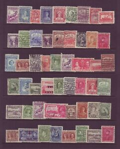 Newfoundland Small Lot Used, Mostly VF with Light Cancels. Nice!