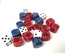 Der Ringkrieg Brettspiel Herr der Ringe Hobbit - 21 Würfel Dice Runenwürfel