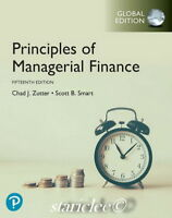 NEW 3 Days to US Principles of Managerial Finance 15E Gitman Zutter 15th Edition