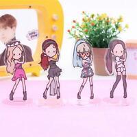 Kpop Blackpink Mini Cute Acrylic Standee Figure Doll Standing Action Table Decor