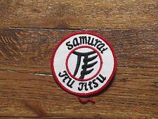 jiu jitsu patch,samurai,nos, 1960's