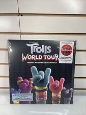 Trolls World Tour - Soundtrack Target Exclusive Clear White Vinyl LP Record New