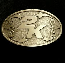 Official Belt Buckle rare collectors limited edition 2k games