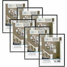 Photo Frame 8x10 Format Set of 6 Lot Wall Mount Art Home Decor Family Pictures