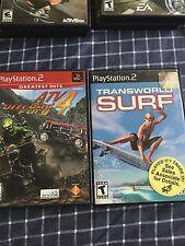 ATV Offroad Fury 4 (Sony PlayStation 2, 2006) + TransWorld Surf