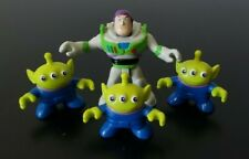 Imaginext Buzz Lightyear with three Aliens