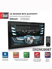 Dual Electronics DXDM280BT CD Receiver with Bluetooth Double DIN Car Stereo new