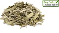 2 LBS Bulk Loose California White Sage Smudge Leaves & Cluster 900 gm ميرمية