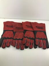 Lincoln Electric Welding Gloves Premium Leather Protective Gear One Size Unisex