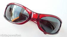 Electric stark gebogene Unisex Sonnenbrille sportlich rot dunkle Gläser size L