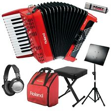 Roland FR-1x V-Accordion Lite - Red BONUS PAK