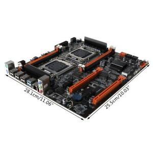 X79 Dual CPU LGA2011 Motherboard E5 4×DDR3 DIMM Desktop Computer Mainboard M.2