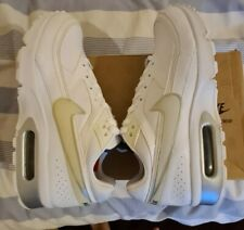 Nike Air Max Classic BW White and Silver Leather Size 7