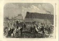 1866 Launch Of The Northumberland Ironclad Wakefield Prize Medal