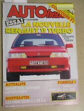 AUTO HEBDO: n°544: 15/10/1986: RENAULT 11 TURBO - MERCEDES 2.3 ET 2.6 - TVR 350i