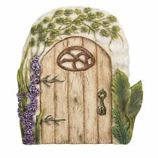 Miniature Fairy Garden of Enchantment Fairy Gnome Hobbit Oak Tree Cottage Door