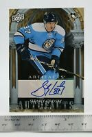 Sidney Crosby Signed Autographed COA Card Upper Deck 2009 Artifacts Hockey Card