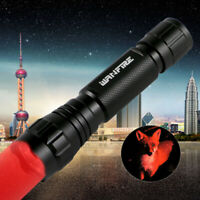 400 Yards Red/Green/White Bulb Flashlight Hunting Light Varmint Predator Lamp
