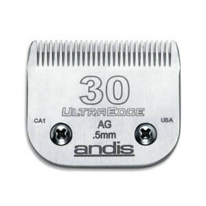 Andis UltraEdge Detachable Blade, Size 30 - Leaves 0.5mm Fits Andis, Wahl, Oster