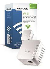 Devolo 9626 Powerline dlan 550 Wifi único adaptador para usar con los kits Etc