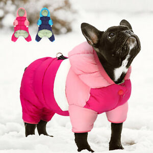 Small Dog Coats for Winter Chihuahua Clothes Warm Pet Down Jacket Hoodie XXS-L