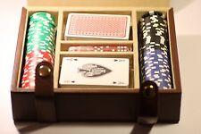 POKER SET (CARDS DICE 100 CHIPS & CASE )