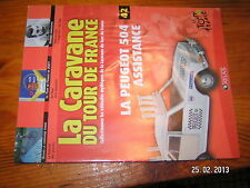 ¤ Fascicule Caravane Tour de France n°42 Peugeot 504 Ugrumov Petit-Breton 2001